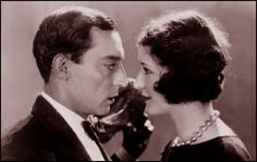 Buster Keaton and Marceline Day