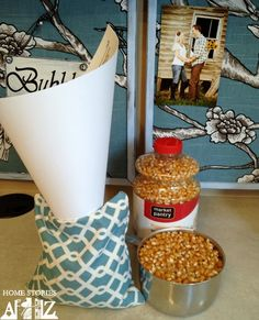 How to Make Corn Bags - Home Stories A to Z