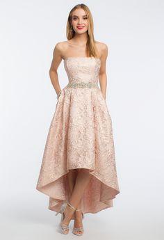 Brocade Hi-Low Dress from Camille La Vie