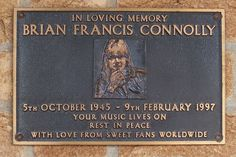 R.I.P.Brian Francis Connolly.