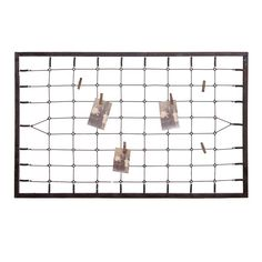A great way to display your favourite photos, postcards and important memo's, the giant Bed Spring memo board stands and impressive 1.3 metres off the floor and is a great addition to your kitchen or home office.