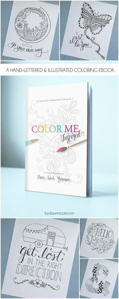 Color Me Inspired Vol 1