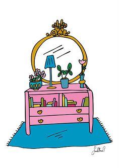 Colorful Home Corner  - Illustration (Sara Ottavia Carolei)