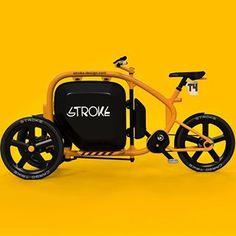 STROKE Cargo Trike T4concept. #カーゴバイク #cargobike #カーゴトライク #cargotrike #dagastroke #japan #ebike #電動アシスト自転車