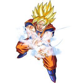 Fans Art de Goku con un traje alternativo.