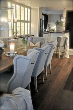 love the floor, table and chairs! amazing combo of rustic and modern