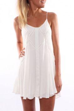 Festival Dream Dress White - Womens