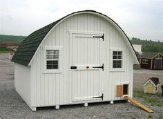 Round Roof Chicken Coop