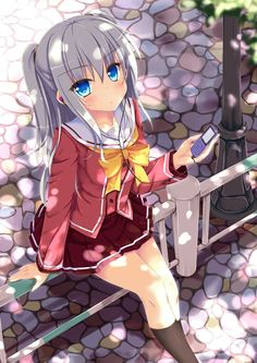 Tagged with anime, anime wallpaper, anime girl; Anime Post No.XLIV (mostly just cute characters from cute shows this time) Manga Anime Girl, Girls Anime, Kawaii Anime Girl, Anime Guys, Charlotte Anime, Beautiful Anime Girl, I Love Anime, Anime Sweet, Otaku