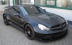 Brabus Vanish. Custom Mercedes-Benz SL65 AMG Black Series.