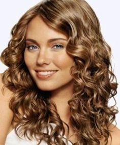 Beautiful curly hair