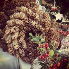 Christmas Wreath #thriftshop #tynemouthmarket