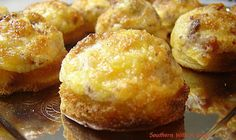 Southern With A Twist: Bacon Parmesan Puffs