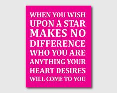 Nursery Wall Art  Disney Quote When you by SusanNewberryDesigns, $15.00 Different font though!