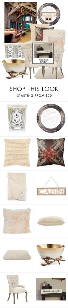 """""""My happy place"""" by felicitysparks ❤ liked on Polyvore featuring interior, interiors, interior design, home, home decor, interior decorating, Diptyque, Authentic Models, Jayson Home and Pillow Perfect"""