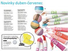 Krásné barvičky :-) dokonalé tria očních stínů, krémové tužky na oči a na rty, gelové lesky
