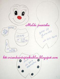 Preschool Crafts, Crafts For Kids, Arts And Crafts, Easy Christmas Ornaments, Simple Christmas, Diy Art Dolls, Scrapbook Da Disney, Teddy Bear Sewing Pattern, Sewing Stuffed Animals