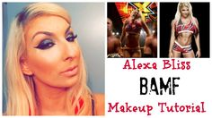 After my last Alexa Bliss tutorial, the good girl has gone bad! Joining up with Blake and Murphy has brought out a new Alexa, and she is firece! Nxt Divas, Makeup Inspiration, Superstar, Wwe, Bliss, Costume, Inspired, Beauty, Costumes