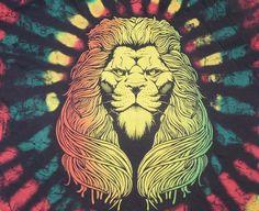 #LionOfJudah #Rasta #TieDye Design #Rastafarian #Reggae ODM 100% Cotton Large #ODM #GraphicTee