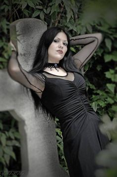 Gothic and Amazing Gothic Models, Fantasy Girl, Gothic Beauty, Goth Girls, Amazing, Style, Fashion, Swag, Moda
