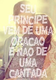 Princesas, SeuPríncipevirá de uma oração e não de uma cantada