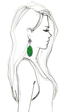 Persian Turquoise Earrings by Bochic for Preorder on Moda Operandi