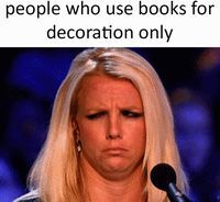 """It's not """"just a book,"""" OK?"""