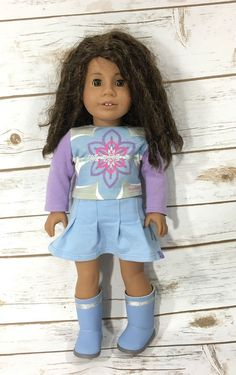 American Girl Just Like You Doll Curly Hair Ethnic African American Light Skin | eBay