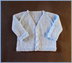 Cute, sweet, easy to knit ...................what more do you want? Barclay Baby Jacket This jacket is knitted top-down    Barclay Baby Cardigan Jacket 3 months  Size:  Width: