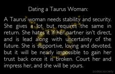 Taurus dating tips