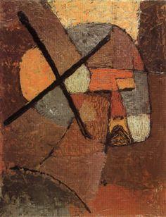 'Struck form the List' - (1933) - Paul Klee.