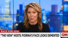 CNN Host Shreds 'The View' for 'Double Standard' on Fiorina: 'I Saw Something Today That Angered Me' The View Hosts, Brooke Baldwin, Katie Pavlich, Cnn Anchors, Raised Right, Sarah Palin, Double Standards, News Anchor, Gif Of The Day
