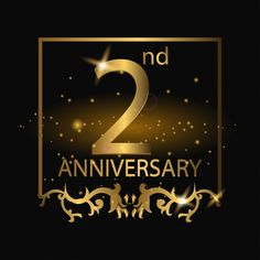 Anniversary Logo With Gold Color Vector and PNG Anniversary Banner, Anniversary Sale, Icon Design, Flyer Design, Luxury Logo Design, Color Vector, Background Banner, Prints For Sale, Clip Art