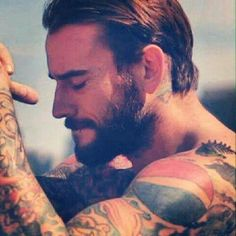 CM Punk. <3 the ink.