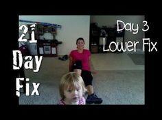 21 Day Fix Lower Fix