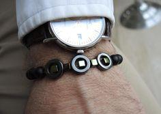 Luxury Onyx Armband mit Hämatit. von Perfect present auf DaWanda.com
