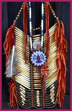 Native American Breast Plate armor http://www.nativeartstrading.com/Breastplates.htm