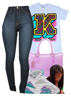 """""""This shirt is so cute."""" by prvncessbeautifulmee ❤ liked on Polyvore featuring OtterBox, Furla, Retrò and Gogo Philip"""