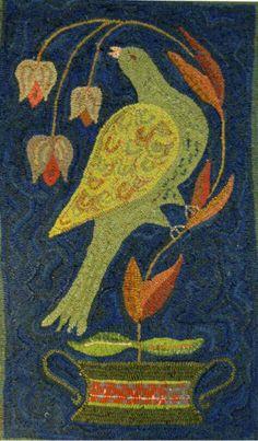 Virginia Fraktur (41 x 24) by Leslie Gorbey from Wooley Fox