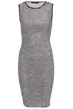 Casual Stripe Bodycon Midi Dress – Ikeshia Boutique Online