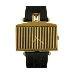 Corum Yellow Gold Rolls Royce Wristwatch. circa 1976