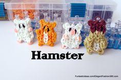 Rainbow loom Hamster charm   ♥Subscribe YouTube Channel:  https://www.youtube.com/user/ElegantFashion360  ♥ Sing up for Newsletter: http://elegantfashion360.com