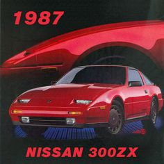 THROWBACK THURSDAY: Check out this 1987 throwback ad for the Nissan 300ZX. #TBT