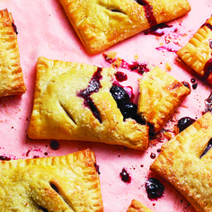 The best thing about blueberry hand pies is that you don't have to share. Personal and portable, these flaky pastries are the perfect vehicle for fruit.