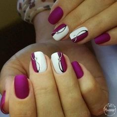 41 super easy nail art ideas for beginners 034 - uñas y cabello, haar une angel, hair and nails - Ongles Nail Art Diy, Easy Nail Art, Diy Nails, Cute Nails, Pretty Nails, Easy Art, Manicure Ideas, Wedding Nails For Bride, Bride Nails