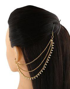 Gold Earrings Designs, Gold Jewellery Design, Jhumka Designs, Ear Jewelry, Jewelry Art, Jewelry Necklaces, Antique Jewelry, Bar Stud Earrings, Bridal Earrings