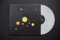 "Vinyl Moon is a subscription service that releases a monthly mixtape pressed on limited edition vinyl and housed in custom packaging created by a different illustrator/designer each month. Volume One, titled ""Orbiting,"" features ten songs by various indie…"