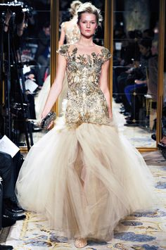 Marchesa's Fall 2012 Collection - lovely tulle