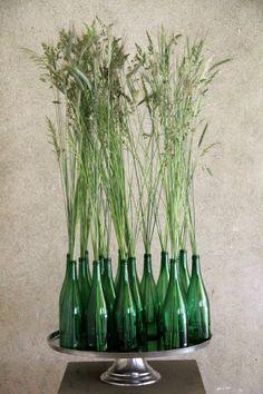 green bottles - grüne Flaschen