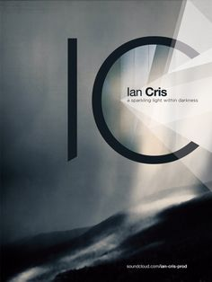Visual ID for Ian Cris visual.01 (electronic music producer and DJ) 12/12